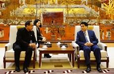 Hanoi wants twinning ties with Bangkok