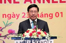 Foreign diplomats contribute to Vietnam's success: Deputy PM