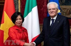 Italian President asserts treasuring ties with Vietnam
