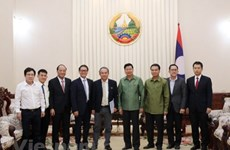 Laos pledges to facilitate Vietnamese firms' investment in agriculture