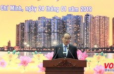HCM City leaders applaud expats' contributions to homeland