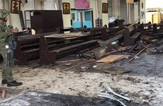 IS claims responsibility for twin bombings in Philippines