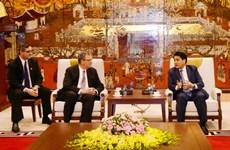 Hanoi leader lauds LDS Church's performance