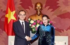 Top legislator receives Korean prosecutor general