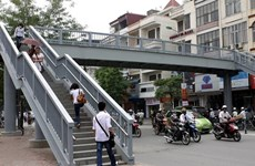 Transport ministry urges pedestrian bridge review
