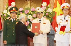 Senior public security, defence officers receive General rank