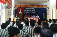 Remission for over 600 prisoners in Tay Ninh before Tet