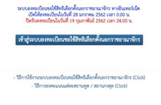 Thailand: Online advanced voting system fully operational