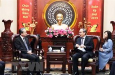 HCM City leader welcomes newly-accredited Chinese ambassador