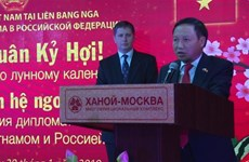 Vietnamese Embassy in Russia hosts Tet banquet