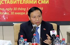 Ambassador highlights progress in Vietnam-Russia ties in 2018