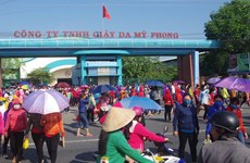 Over 10,000 footwear workers in Tra Vinh sacked before Tet