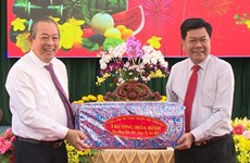 Deputy PM pays Tet visit to Long An province
