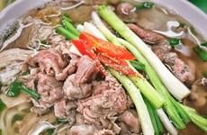 """Vietnam's iconic """"pho"""" noodle soup"""