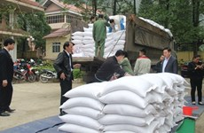 Rice aid reaches over 520,000 impoverished people ahead of Tet