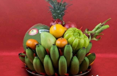 Tet fruit tray, indispensible part of Vietnamese culture