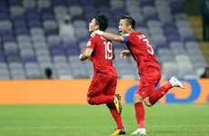 Vietnamese midfielder wins Best Goal Award at Asian Cup