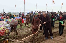 Traditional ploughing festival wishes for bumper harvests