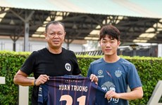 Midfielder Luong Xuan Truong signs for Buriram United