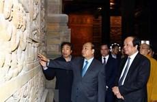 PM inspects preparations for UN Day of Vesak 2019 in Ha Nam