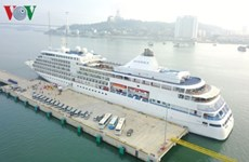 Ha Long international passenger port greets six-star cruise