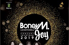 Bands Boney M and Joy to perform in Hanoi next month