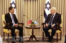 Vietnamese ambassador presents credentials to Israeli President