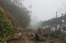 Over 10,200 areas in Vietnam face landslide threats
