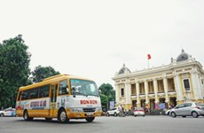 Bonbon city tour explores Hanoi's history, culture