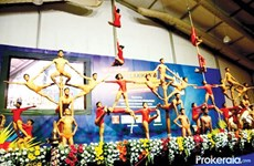 "Vietnam competes at ""yoga on a pole"" world championships"
