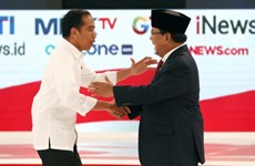 Indonesian presidential candidates hold second debate