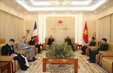 Deputy minister highlights Vietnam-France defence cooperation
