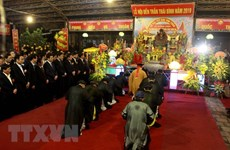 Tran Temple Festival opens in Thai Binh