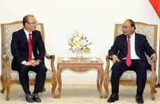 Prime Minister hosts men's football coach Park Hang-seo