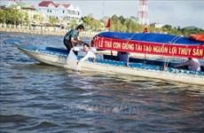 Mass release of aquatic species underway in Kien Giang
