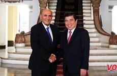 HCM City leader receives former Israeli Deputy PM