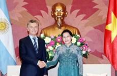 Vietnam wants to bolster strategic partnership with Argentina: top legislator