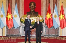 Vietnam, Argentina to work towards strategic partnership