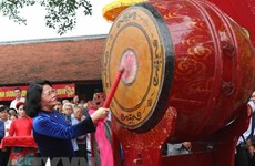 Festival commemorates first king of Vietnamese people