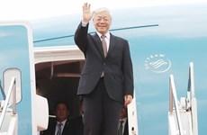 Top Vietnamese leader to visit Laos, Cambodia