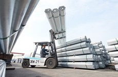 Hoa Phat exports steel pipe to India for first time