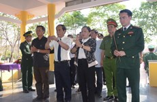 Memorial stele for border war martyrs inaugurated in Gia Lai
