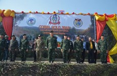Thai-US armies join to remove mines as part of Cobra Gold 2019