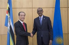 Vietnamese Ambassador presents credentials to Rwandan President