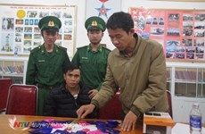 Nghe An: man arrested with 4,800 meth pills