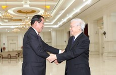 Vietnam, Cambodia to further intensify political trust