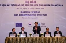 Inaugural seminar on multi-dimensional review of Vietnam