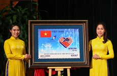 Stamp set issued to welcome DPRK-USA Summit