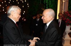 Leader sends thank-you message to Cambodian King