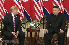 US, DPRK leaders begin summit in Hanoi